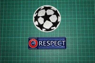 UEFA Champions League Football Sleeve Patch/Badge/Starball 2012-Present RESPECT