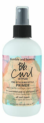 Bumble and bumble Bb.Curl Pre-Style/Re-Style Primer 8.5 oz. Sealed Fresh