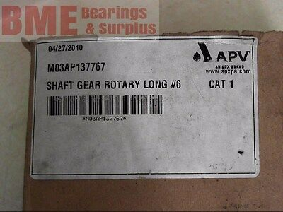 Spx Apv M03Ap137767 Shaft Gear Rotary Long #6
