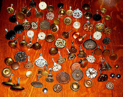 (( #  44 )) (((( 90 ))))  1800'S to 1940'S   DRAWER,CABINETS, ETC, KNOBS ))))