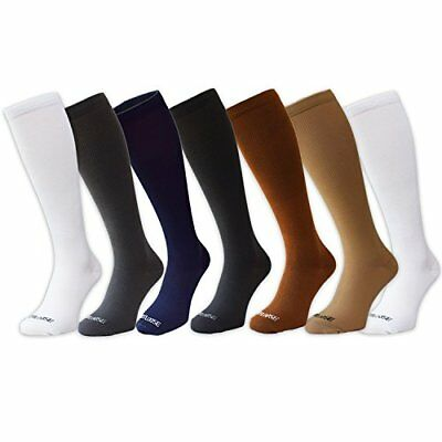 Compression Socks by Footloose for Men & Women | 7 Pair | (L/XL)