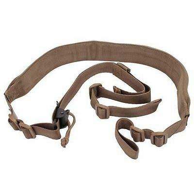 VTAC Coyote Tan MK2 Mark 2 Padded Two Point Rifle Tactical Sling Quick Adjust