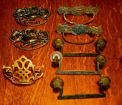 ((# 103)) (( Mixed Pairs, Set & Single, Dresser, Trunk, Tool Box Handles ))