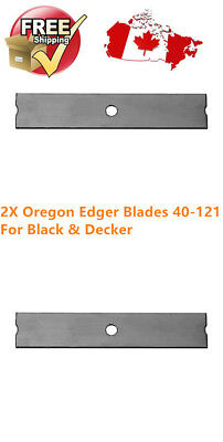 2 Pack Oregon Edger Blade 40-121 for Black and Decker Edgers 7-5/8""