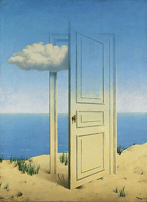 Rene Magritte Victory giclee 8X12 canvas print art reproduction poster