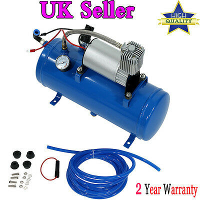 Quality 150psi Air Compressor Tyre 12V Inflator Pump for Air Horn Truck Tire UK