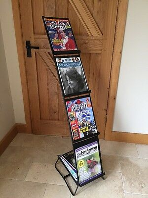 Free Standing Lion Magazine / Leaflet Stand