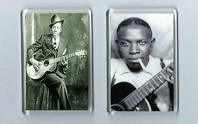 Magnets x 2 :ROBERT JOHNSON The BLUES RnB Rhythm n Blues Jazz