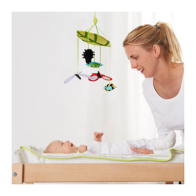 LEKA Baby / Nursery Mobile, multi-color, developmental, bugs *NEW* FREE Shipping