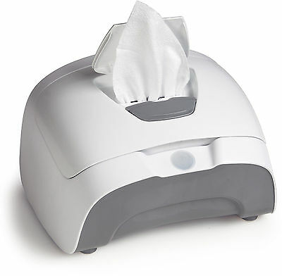 Prince Lionheart Warmer Pop for Baby Nappy Wipes Change Grey
