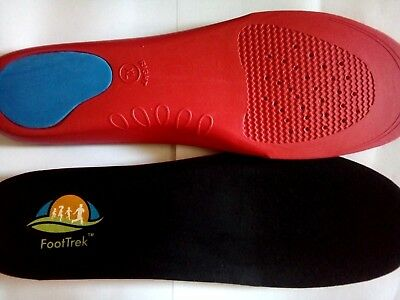 FootTrek High Performance Orthotic Insoles for High Activity Users