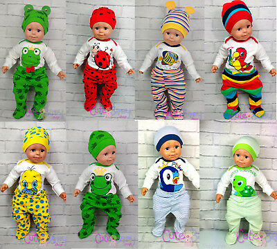 0-3 Cute Baby Shower Gift Girl Boy Bodysuit Trousers Hat Newborn Outfit Set 3-6