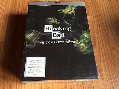 Breaking Bad: Complete Series 1 2 3 4 5 6 DVD, 21-Disc free shipping