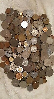 Mexico Coins, 6 1/2 Pound Mix, Circulated & Uncirc, Business, Free Usa Shipping