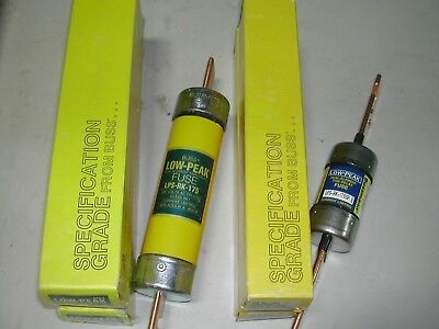 Lot  4 Bussmann LPS-RK-175/175SP 175 Amp Fuse Low Peak 600 Volts New In Box I10