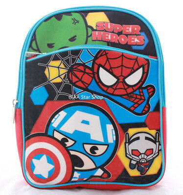Avengers Boys Toddler Preschool Backpack Book bag Kids Children Cartoon Mini 10""