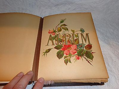 Antique Photograph Album with 47 Antique Photos, Lancaster, Pa. Pictures