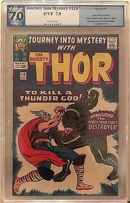 Thor Journey into Mystery # 118  1st appearance Destroyer. PGX 7.0