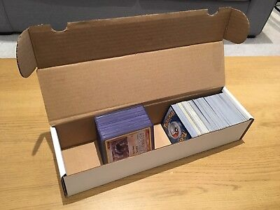 5 x STRONG CARD STORAGE BOX - HOLDS 1000 CARDS! Pokemon, MTG...
