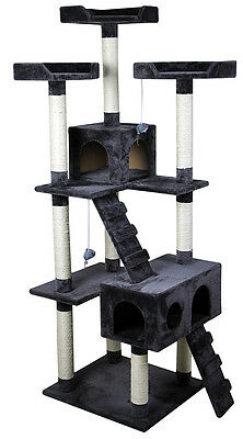 """Mississauga Cat Tree Condo 70"""" - Littlewhiskers"""