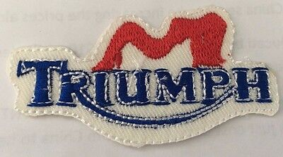 Embroidered  cloth patch ~ Triumph logo.    B031001