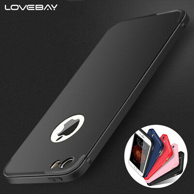 For iPhone 5 5s SE iPhone 7 6s 6 Plus Case UltraSlim Shockproof Soft TPU Cover