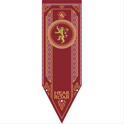 US!Game of Thrones Banner Flag Targaryen Stark Lannister Home Decor 19*60''
