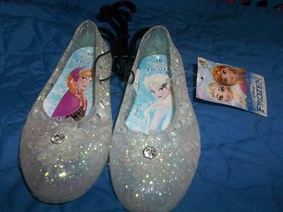 Frozen Jell Shoes Toddler Size 10 New With Tags