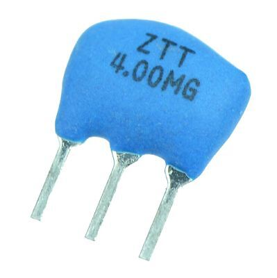 10 x 4MHz ZTT 3-Pin Keramik Resonator