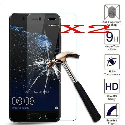 2X Tempered Glass Screen Protector Protective Film For Huawei Phones
