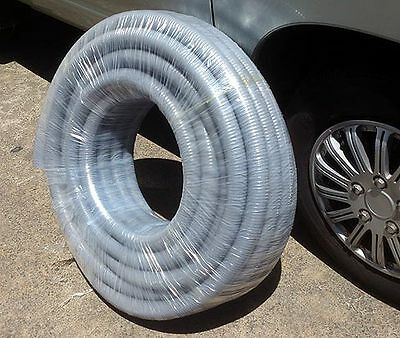 EC&M Flexible Electrical Cable Conduit 1 roll 30m x 35mm Dia Guaina Super GRIGIA