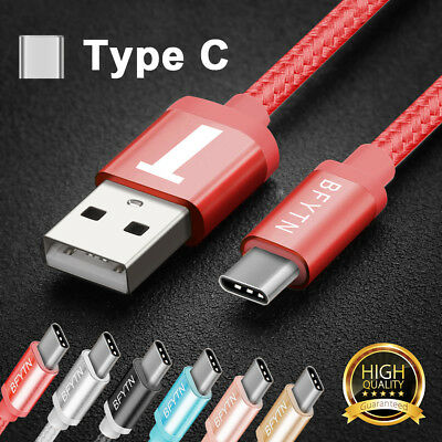 USB C Type-C Sync Data Charging Charge Cable for LG G5 G6 Samsung S8 Plus/Note 8
