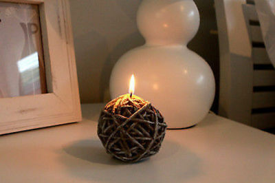 Knitting Wool Ball Candles Set of 2 buy 1 get 1 free reduced to clear