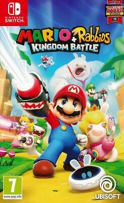 Mario + Rabbids Kingdom Battle Nintendo Switch Game Brand New UK PAL