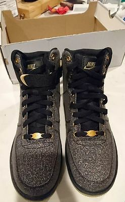 NEW Nike Air Force 1 High Lv8 Shoes GS 5.5Y Black/Brown
