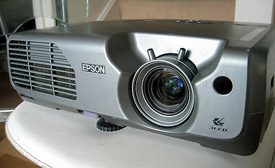 Epson EMP-821 Movie Video PC Multimedia Projector Low Hours 2600 ANSI USB