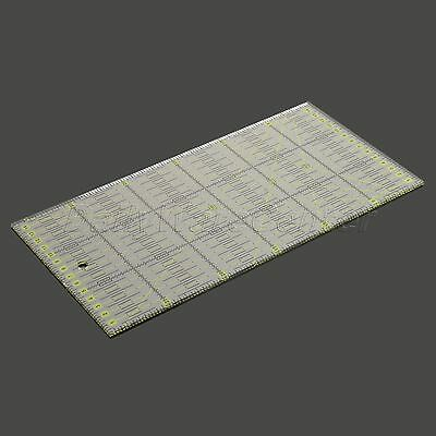 Multifunction 30°/45°/ 60°/ 90° Decorative Pattern Patchwork Ruler Hand Tools