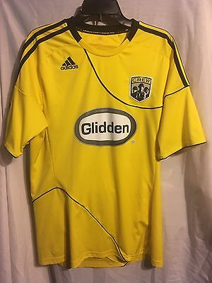 Columbus Crew MLS Home Football (Soccer) Top Mens Large (Yellow/Black)