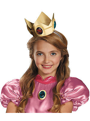 Super Mario Brothers Princess Peach Crown Amulet