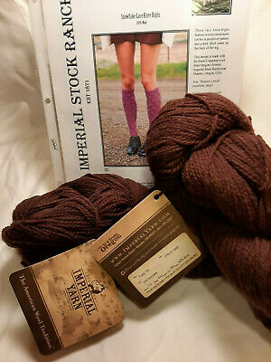 Scarf/Hat/Accessory Kit Imperial Yarn Tracie Too DK Wool USA