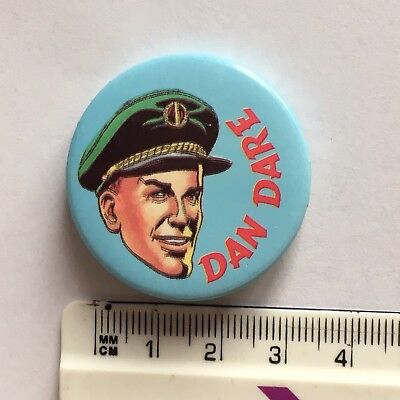 Eagle Comic Character Dan Dare Button Pin Badge (see pics)