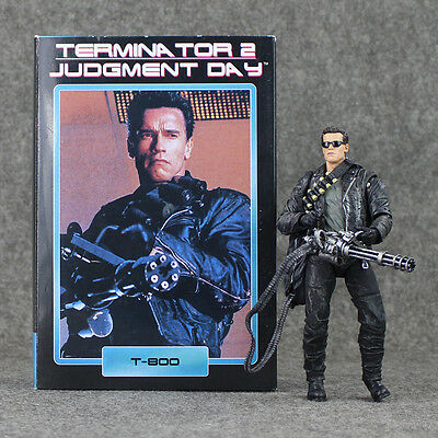 NECA TERMINATOR 2 T-800 ACTION FIGURE 17 cm Judgment Day ORIGINAL TOY COLLECTION
