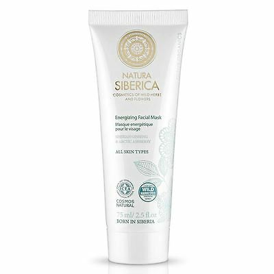 Natura Siberica Energizing Facial Mask 75ml for All Skin Types