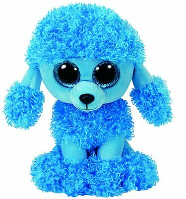 Mandy Blue Poodle  Ty Beanie Boos  Brand New