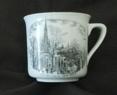 St Georges Church New Mills China Cup 1931 - HIGH PEAK Derbyshire #1