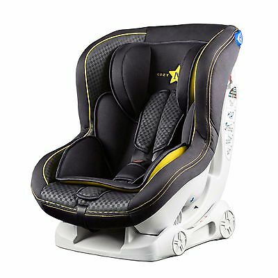 Cozy N Safe Fitzroy Child Car Seat - Group 0+/1 Black/Yellow