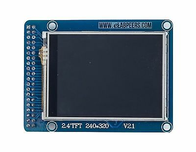 2.4 inch TFT LCD module Display with touch panel SD card 240x320 than 128x64 lcd
