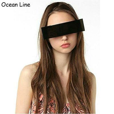 Cool Black Glasses Night Photo Booth Accessories Halloween Sunglasses Censored