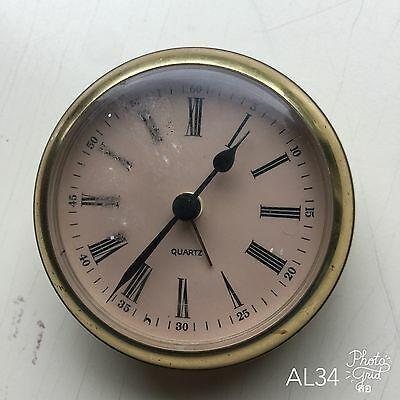 Alarm Clock Made in Germany Quartz Spares and Repairs or Collectable Only
