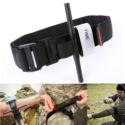 Tourniquet Rapid One Hand Application Survival  Emergency Strap First Aid Kit